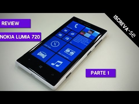 Review - Resenha do Nokia Lumia 720  ( Parte 1 de 3)