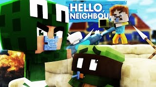 Minecraft Baby Hello Neighbour - THE NEIGHBOUR HAS WEAPONS!?