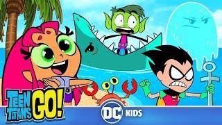 Teen Titans Go! | Beach Day! | DC Kids