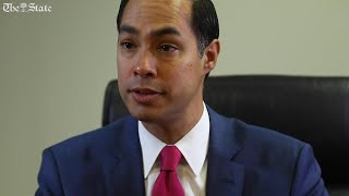 Democratic candidate, Julian Castro, believes he can take Texas, Florida and Arizona to beat Trump