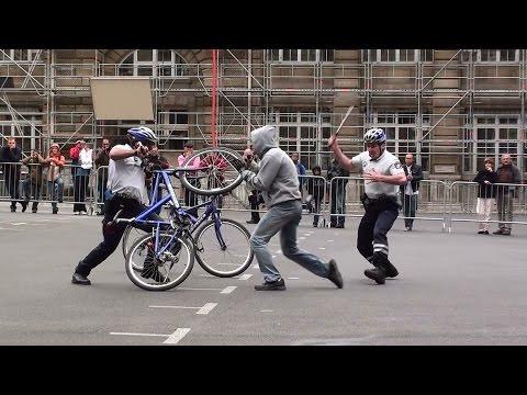 La Brigade VTT de la Préfecture de Police de Paris