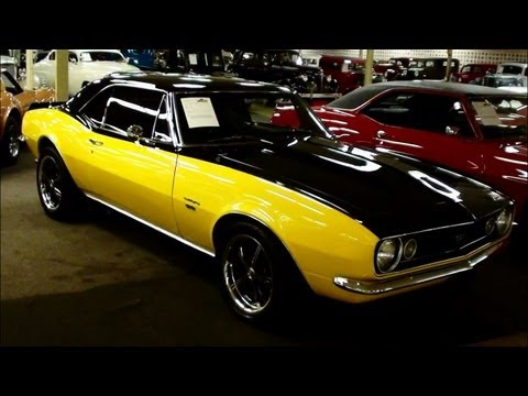 Camaro on 1967 Chevrolet Camaro 501hp Nitrous Fed 396 Big Block Muscle Car