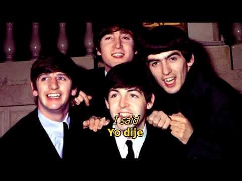 Beatles - She said, she said