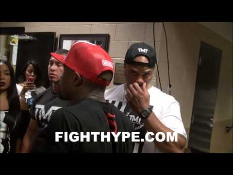 FLOYD MAYWEATHER ON GLOVE CONTROVERSY NO PADDINGNO WONDER WHY FIGHTERS IS DYING