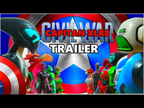 CAPITÁN AMERICA: CIVIL WAR   BEN 10 - Trailer Parodia