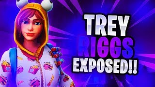 The MOST TOXIC Fortnite Player Challenged Me To 1v1 (Trey Riggs)
