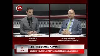 26.Gün | Prof.Dr.Fuat Erdal Anadolu Ünv Rektörü