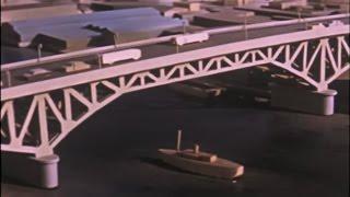 Granville Bridge - a 1954 City of Vancouver film about the construction of the bridge