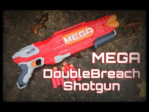Honest Review: Nerf MEGA Double Breach (Over/Under Shotgun Unboxing+Review)