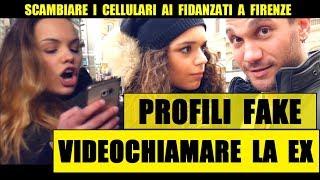 SCAMBIARE I CELLULARI ai Fidanzati: Videochiamare la EX (Firenze) - Giacomo Hawkman