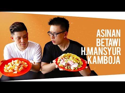 JWESTBROS MAKAN ASINAN KAMBOJA? | Food Undercover #2
