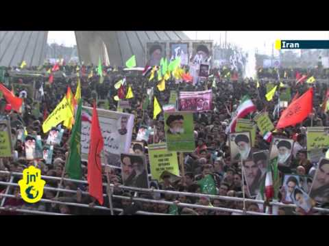 Iran marks 35 years since Islamic Revolution: thousands chant anti-Israel and anti-US slogans