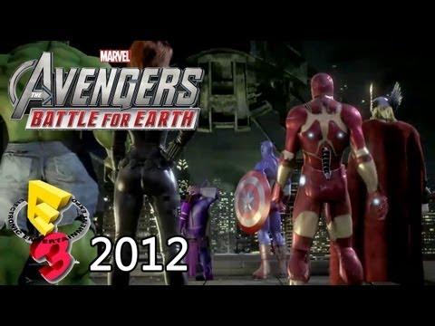 The Avengers: Battle for Earth 'E3 2012 Debut Trailer' TRUE-HD QUALITY