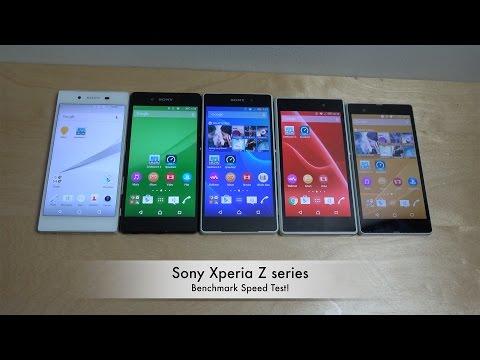 Sony Xperia Z5 vs. Z3+ vs. Z2 vs. Z1 vs. Z - Benchmark!