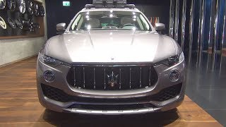 Maserati Levante Q4 Gran Lusso (2018) Exterior and Interior
