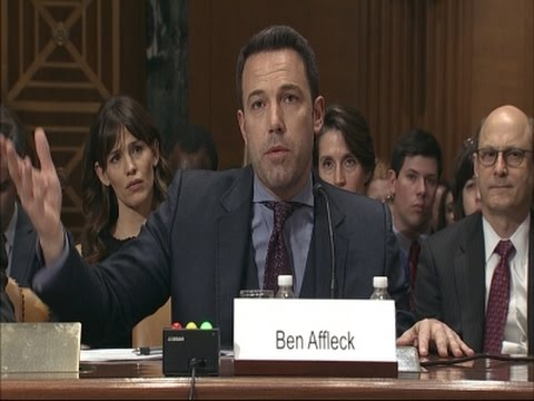 Affleck, Gates Urge Foreign Aid Funding