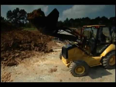 Cat® E-Series Backhoe Loaders and Attachments