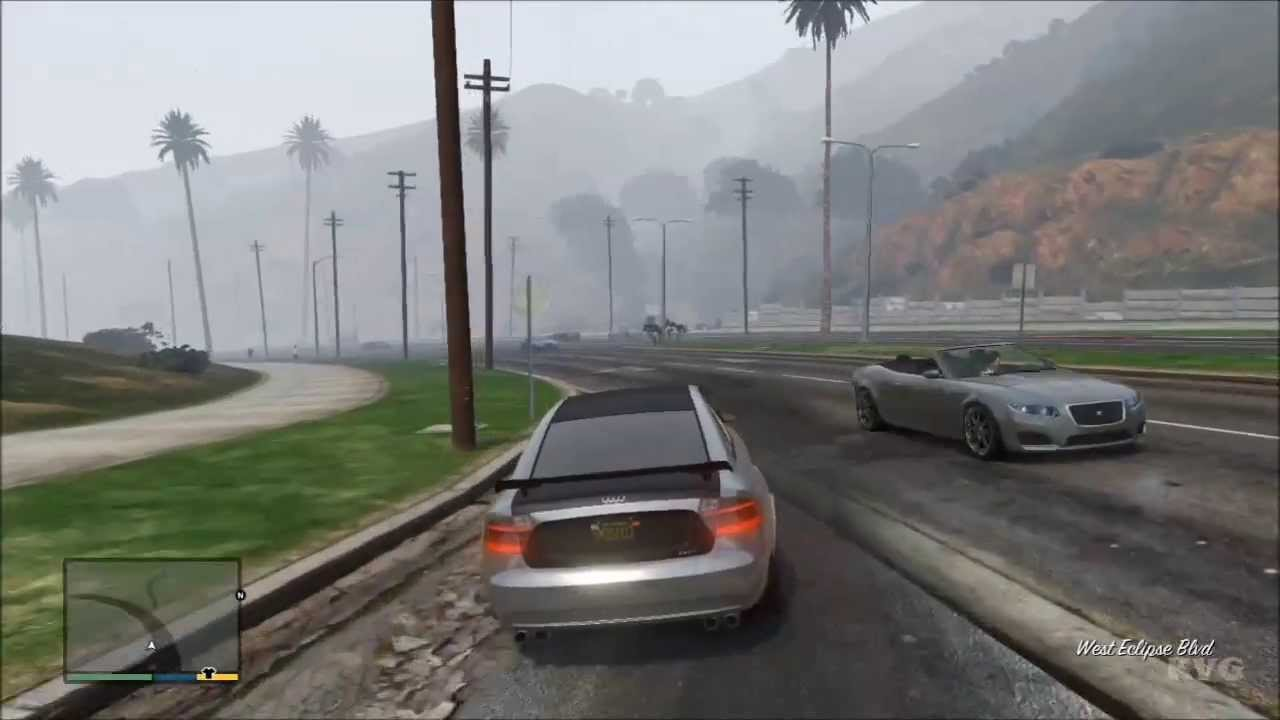 grand theft auto 5   michael car tuning driving gameplay hd