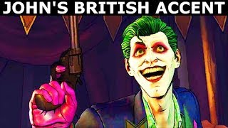Download Lagu Joker Doing a British Accent - BATMAN Season 2 The Enemy Within Episode 5: Same Stitch Gratis STAFABAND