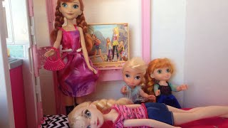 Elsa crying- Elsia and Annias Valentine's Day