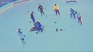 Doctor saves man during Pineville hockey game
