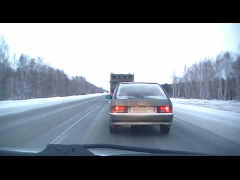 Обгон на автомобиле с правым рулем