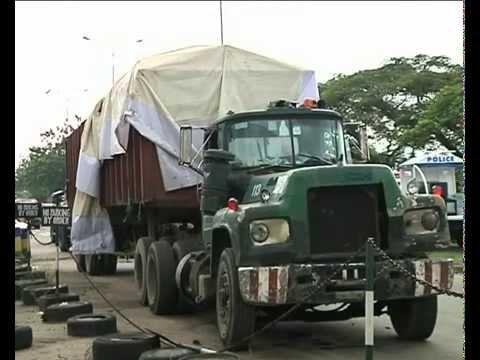 TVC NEWS | RICE DIVERSION: LAGOS POLICE INTERCEPT 600 BAGS