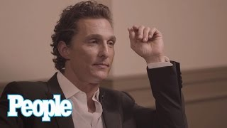 Matthew McConaughey Says Fake Boobs Are Overrated & When He Feels Sexiest | People