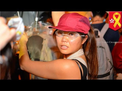 Hong Kong protest 2014: what Hong Kongers want you to see as police crack down