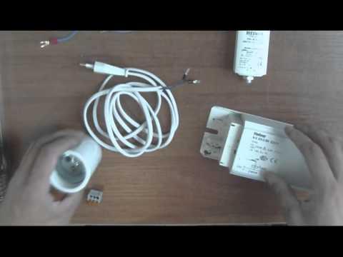 как подключить лампу ДНаТ 250-5