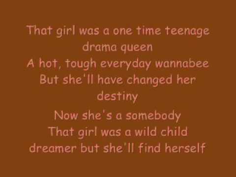 Lindsay Lohan Drama Queen with Lyrics