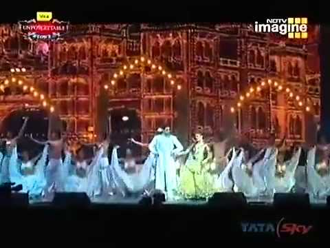 Aishwarya Rai and Abhishek Unforgettable Performance 2008