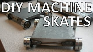 Easy CNC Equipment Moving with DIY Machine Skates