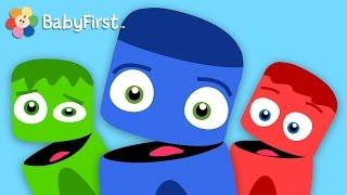 La Pandilla de Colores - Bloque infantil de 20 minutos para aprender los Colores