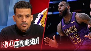 Matt Barnes believes LeBron caused a 'fracture' in the Lakers locker room | NBA | SPEAK FOR YOURSELF