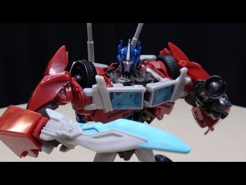 Transformers Prime Voyager OPTIMUS PRIME: EmGo's Transformers Reviews N' Stuff