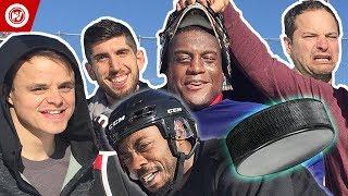 NHL Goalie vs. Regular People | Kevin Weekes