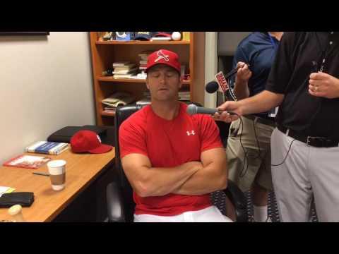 Cardinals manager Mike Matheny: Matt Carpenter must be careful