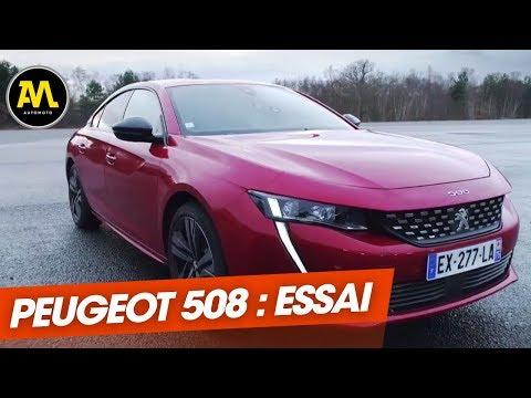 Essai : La Peugeot 508 Défie Les Meilleures