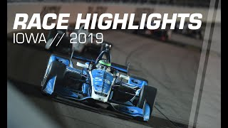 2019 Iowa 300 // Race Highlights // NTT IndyCar Series