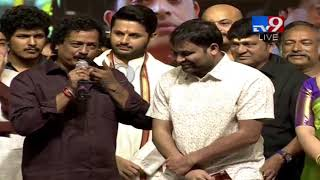Director Satish Vegesna speech at Srinivasa Kalyanam Audio Launch