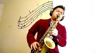 Kamu Yang Kutunggu - Afgan Rossa Saxophone cover by aliffsax