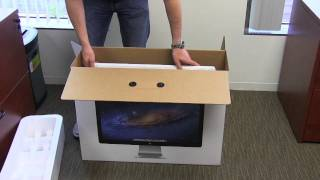 Apple Thunderbolt Display (27-inch) Unboxing