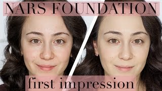 Nars All Day Luminous Foundation I first impression I Make-up I Hatice Schmidt