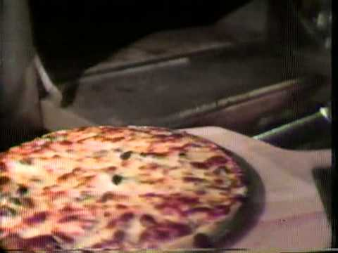 Godfathers Pizza commercial 1980