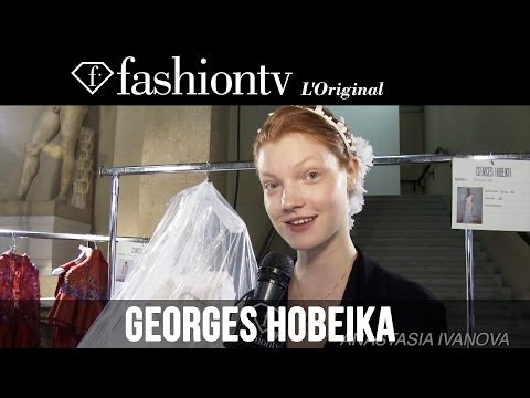 Georges Hobeika Couture Fall/Winter 2014-15 BACKSTAGE | Paris Couture Fashion Week | FashionTV
