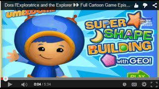 Team Umizoomi Super Share Building with GEO Online Game - Games for Children