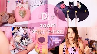 DIY: Room organization/ Идеи декора комнаты/Room decor ideas|Fosssaaa