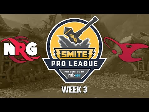SPL Summer Split 2018 Week 3: NRG Esports vs. Mousesports (Game 1)