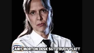 AMY MORTON DESK SGT  TRUDY PLATT Chicago P D